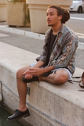 Philip Antony - Dr. Martens Shoes, Asos Shirt, Levi's® Short - Warmth Of Freedom