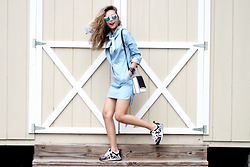 Queen Horsfall - Style Moi Denim Dress, Trendhood, Wannabk, Jord Watch - Everyday Friday