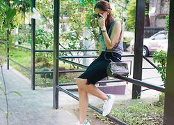 Patricia Prieto - Sub Urban Riot Kale Top, Givenchy Bag, Adidas Stan Smith Sneakers - Oh, KALE yeah!