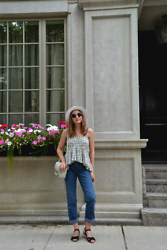 Lidiya B - Free People Top, Levi's® Levi's Jeans - Hanging out in Toronto