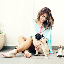 Priscila Diniz - Top, Shoes - Lazy weekend