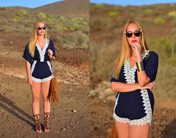 Nery Hdez - Fendi Sunglasses, Lovelywholesale Playsuits - Gladiator