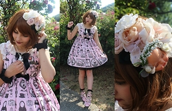 Candy Hashi - Angelic Pretty Sweet Girl Room Jsk - Sweet Girl