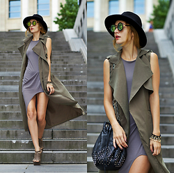 Ruxandra Ioana - New Dress Cardigan Vest, Elite99 Dress, New Dress Sunglasses - No you, no love