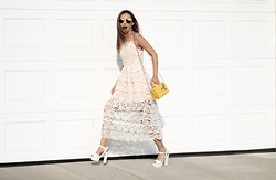 Queen Horsfall - Sheinside Lace Dress, Polette, Coach - Character. Intelligence. Strength. Style.