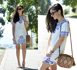Alba . - Choies Dress - Tile Dress