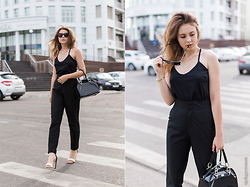 "Helena Ivanova - Top, Zara High Wasted Pants, Zerouv Sunglasses - The beginning of ""Cheap Luxury"" style ! <3 Visit Heleniv.ru"
