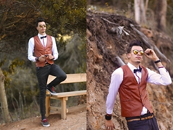 Espada Yassine - Shirt For Men, Waistcoat For Men, Sunglasses - DApper Man