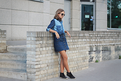 Karolina Sabała -  - Denim total look
