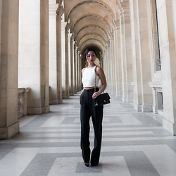 Fiveftwo - Asos Trousers, Zara Top, Chanel Bag - Chanel Chic
