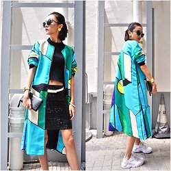 ALULU - Burberry Bag, Nike Shoes, Fendi Sunglasses - Color day