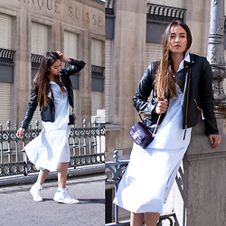 Romina Ch - Mango Jacket, Cos Dress, H&M Bag - Back to School Fashion