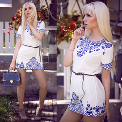 Oksana Orehhova - Choies Dress, Oceanfashion Bag - JUST A BIT MORE SUMMER