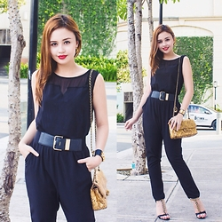 Nicole Aguinaldo - Cinderella Jumpsuit, Chanel Bag - Perfect Together