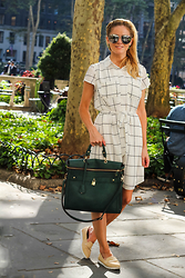 Kim Tuttle - Lemonpop Loafer, Lemonpop Dress, Angela Roi Square Tote, Freyrs Erie - New york minute