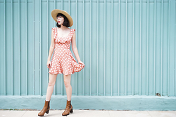Amy Roiland - Reformation Dress - POLKA DOT LAND