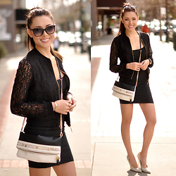 Jessica R. -  - Lace Bomber