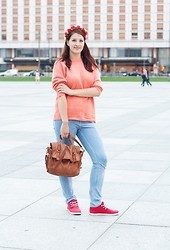 Sunday Bests -  - Coral&flowers