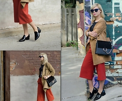 Liat Neuman - H&M Jacket, Zara Pants, Chloé Bag, French Connection Uk Shoes - The colours of fall