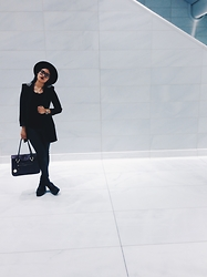 Lex Mora - Zara Blazer, Vagabond Norah's, Marshall's Hat - In Love With You