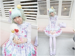 Zairai Chen - Twinkle Heaven Holley Tea Time, Ribbon Ring Chocomint - YUME KAWAII