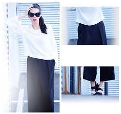 Ramona Moldovan - Mango Top, H&M Trousers, Musette Shoes - I Just Wait For A Real Storm
