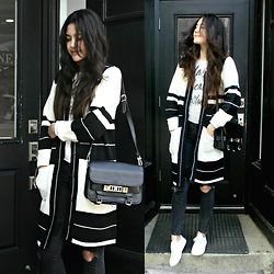 Florencia R -  - The Striped Coat