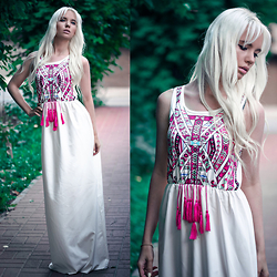 Oksana Orehhova - Zaful Dress - ROMANTIC BOHO