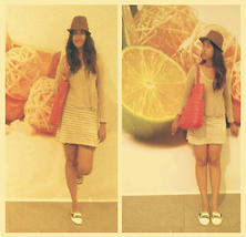 Psyche Psyche - Sm Accesories Hat, Techgear Bag, Wanko One Piece Casual Dress, Bench Shoes - Malling