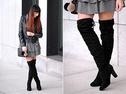 Joanna K. -  - OVER THE KNEE BOOTS || by PLAAMKAA