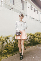 Tricia Gosingtian - Just G Top, Just G Skirt, The Sm Store Bag, The Sm Store Shoes - 100615