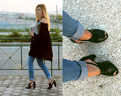 Euridice K - Yoins Top, Zara Jeans, So Shoe - F for Fashion:BLACK SPACES|So ShoeXChatoyant21| (YOINS REVIE