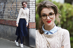 Ceci Bloom - Tatuum.Pl Skirt, Even&Odd Shoes, H&M Shirt - #26 23.10.2015