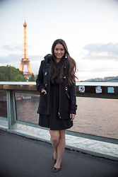 Elise Armitage - Zara Coat, H&M Dress, Tieks Flats - The City of Light