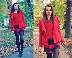 Jointy&Croissanty © -  - Ootd: red jacket