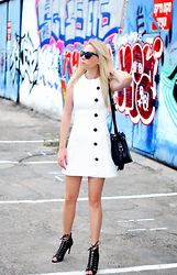 Anat Koren - Asos Dress, Zara Heels, Zara Bag - Elegant chaos