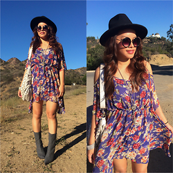 Lily S. - Dress, Nine West Boots, Bag - Halloween // Instagram: @pslilyboutique