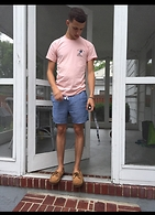 Michael LaRosa - Only Ny Tee, Forever 21 6 Inchers, Sperry Topsider Sperry's - Summertime steez