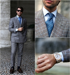 Filippo Fiora - Hamilton Watch, Caruso Suit, Hermes Tie, Ralph Lauren Shoes - POSEIDON
