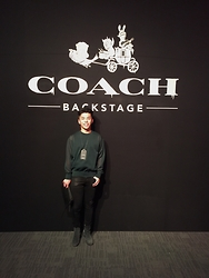 Andy Lin -  - COACH BACKSTAGE