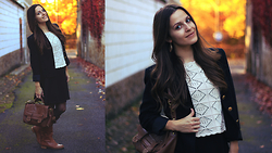 Alves Elodie - Zara Bag, H&M Skirt - AUTUMN