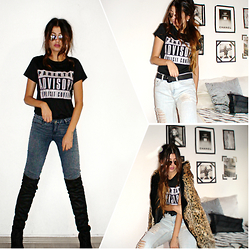 Venetia Kamara - Cndirect Boots, Cndirect T Shirt, Cndirect Sunglasses - Parental Advisory