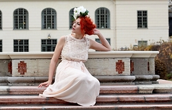 Senoel S - Diy Flower Headpiece, Wholesalebuying.Com Lace Dress - Turbulent times .
