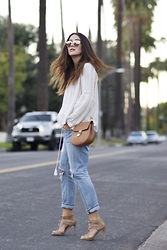 Tamara Kalinic - Chloé, Christian Dior, Citizen Of Humanity, Zara, Dolcevita - Los Angeles Style