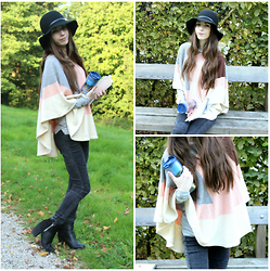 Lily Braz - Forever 21 Poncho, None Jegging, H&M High Boots, C&A Capeline - Ain't Nobody Knows Me Better