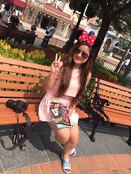 Khusbu Gauchan -  - THE HAPPIEST PLACE ON EARTH-DISNEYLAND
