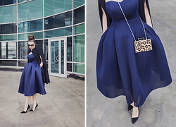 Vita K. - Asos Dress - Urban Blue
