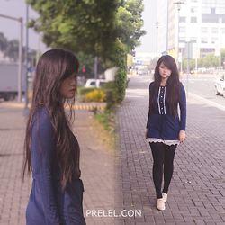 Prelel Yu - Rosegal - Blue but not blue