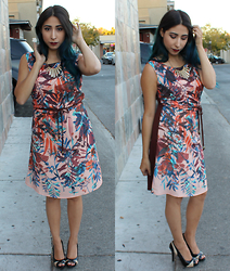Brianna Ramirez - Skunkfunk Dress, Nine West Heels - Thanksgiving Look