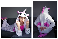 Anna Hasiak - No Name Unicorn Onesie - Anna the unicorn